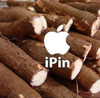 Novo produto da Apple: o IPin